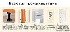 Комфорт Хай-Тек кухня КХ-165 зебрано темное 2.8 м , фото 2