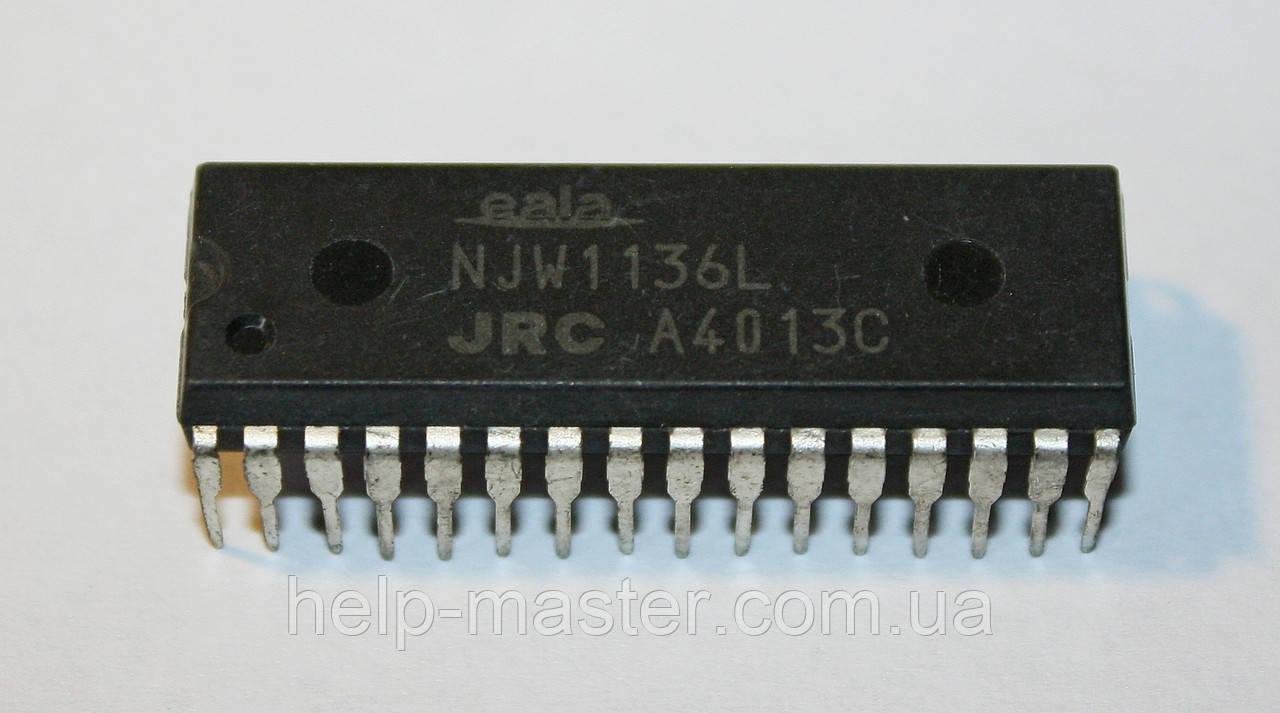 Микросхема NJW1136L (DIP-32)