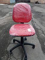 Кресло офисное б/у. Модель Регал. Цвет:красный
