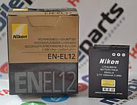 Оригинальный Аккумулятор для фотоаппарата Nikon EN-EL12 для CoolPix S70 | P300 | S610C | S1000pj | S8000