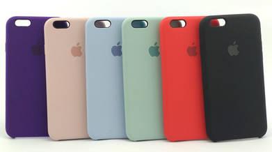 Силиконовые чехлы iPhone Silicone case