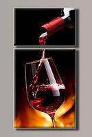 "Картина ""Красное вино"" от студии LadyStyle.Biz, фото 1"