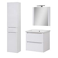 Комплект мебели для ванной комнаты Эльба 60 ТП-2 подвесной с зеркалом Юввис