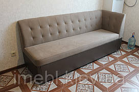 Кухонный уголок со спальным местом в узкую кухню (Бежевый)