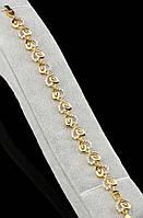 """Изящный  позолоченный браслет   """"Амурный"""" от студии LadyStyle.Biz, фото 1"""