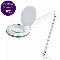 Лампа-лупа 6027 LED 12W  с креплением, настольная