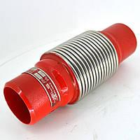 Компенсатор сильфонный приварной с внутренней вставкой L=60мм Ду50