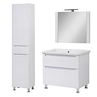 Комплект мебели для ванной комнаты Эльба 70 напольный с зеркалом Юввис