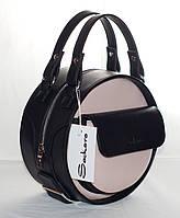 Женская, стильная, круглая сумка от производителя