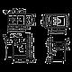 Гранитная мойка Granit Stela Plus 780х500х200 ivory, фото 2