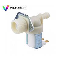 Клапан подачи воды 1/180  D13,5 для стиральной машины WHIRLPOOL код 481281729743