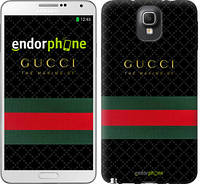 "Чехол на Samsung Galaxy Note 3 N9000 Gucci 1 ""451c-29-532"""