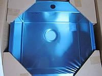 Мойка кухонная AquaSanita  Luna 100N 51x54x20 из нержавеющей стали, фото 1