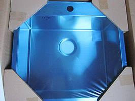 Мойка кухонная AquaSanita  Luna 100N 51x54x20 из нержавеющей стали