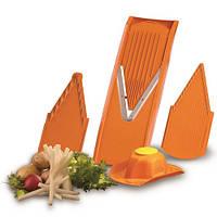 Овощерезка комплект Börner ОРТІМА плюс оранжевая