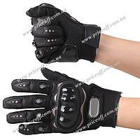 Мотоперчатки Pro Biker (Чёрные), фото 1