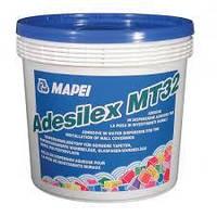 Клей для всіх типів настінних покриттів ADESILEX MT32.10 кг. Mapei.