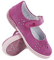 Туфельки для девочки на липучке. Размеры 30, фото 1