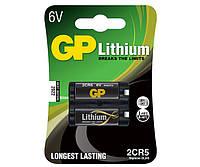 Батарейка для фотоаппаратов GP 2CR-5 U-1 Lithium DL245, 6V