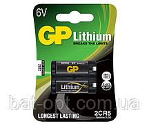Батарейка литиевая GP 2CR5 U-1 Lithium DL245 6V