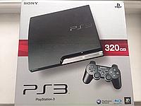 Sony Playstation 3 slim 320 (прошитая)