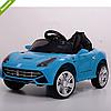Детский электромобиль M 3176 EBLR-4 Ferrari, кожаное сиденье ***