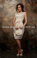 Выпускное платье с гипюром