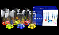 "Набор Стаканов Высоки Luminarc Bright Colors ""STERLING"" 300мл 6шт (J8934)"