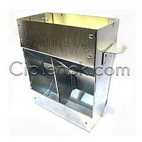 Бункерная кормушка для кроликов 2 отд. метал. (БКК-3)