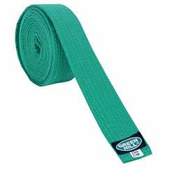 Пояс для кімоно GREEN HILL OLIMPIC зелений