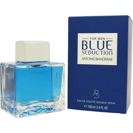 Мужская парфюмерная вода Antonio Banderas Blue Seduction 100 ml не оригинал, фото 2