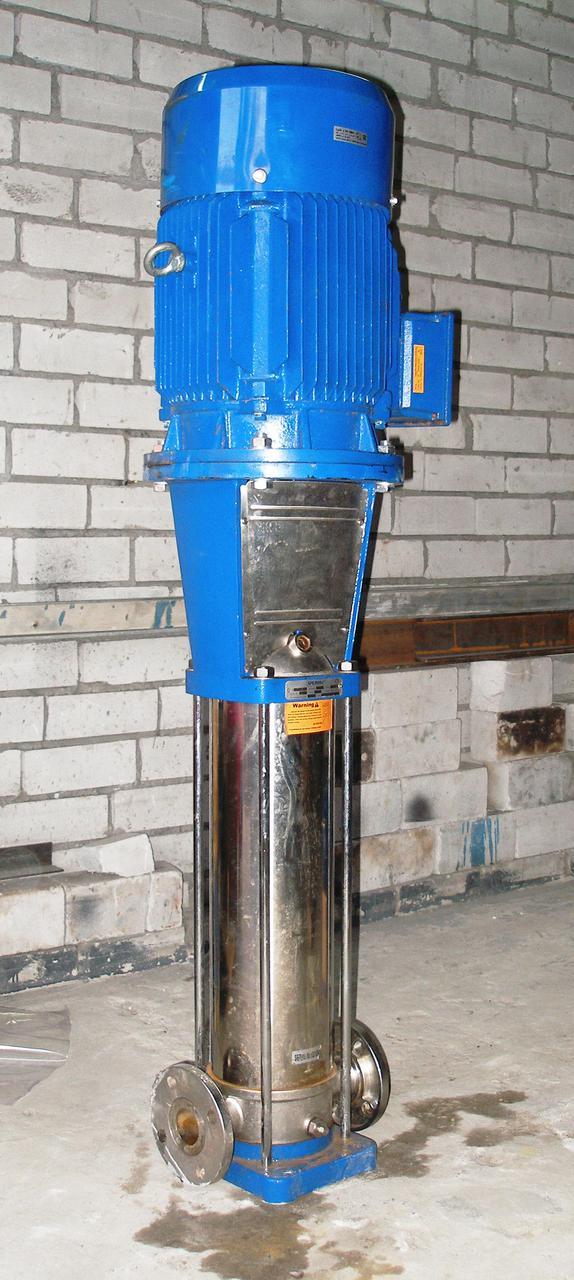 Вертикальный многоступенчатый насос из нержавеющей стали Speroni VS  2-7