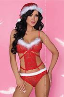 Эротическое сексуальное белье: Minerva LC Красный, L/XL