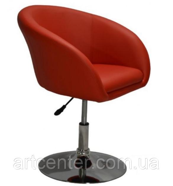 Крісло для майстра (МУРАТ Р червоний) на гідравліці
