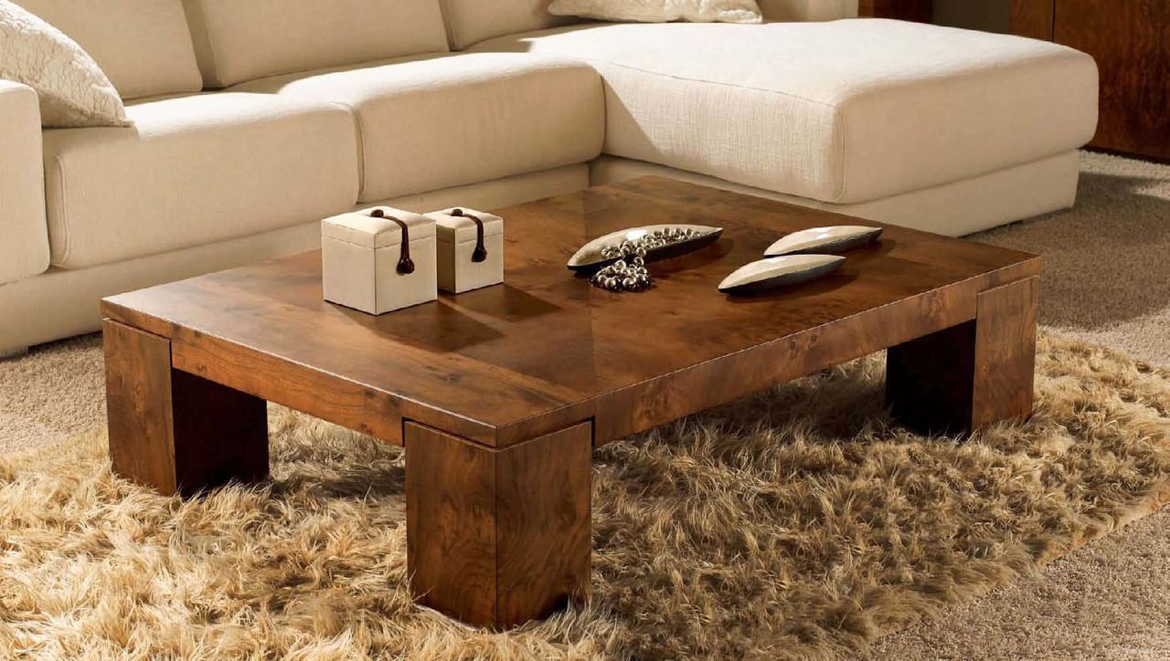 """Кофейный столик """"Кэти"""" из массива дерева"""