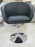 Кресло для мастера (МУРАТ НЬЮ черный) на пневматике, фото 3
