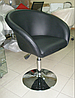 Кресло для мастера (МУРАТ НЬЮ черный) на пневматике, фото 4