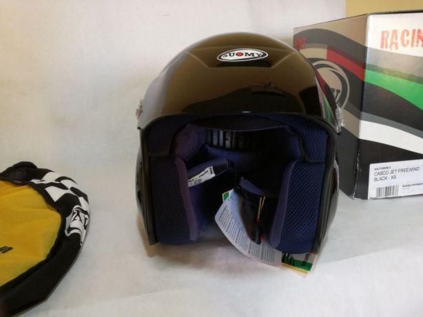 Мотошлем Trial Jet Freewind Black Размер XS
