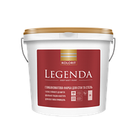 Legenda. Легенда  глубокоматовая латексная краска для внутренних работ 0,9л