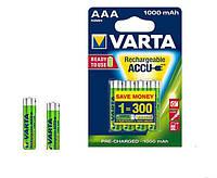 Аккумулятор VARTA AAA/HR03  1000mAh R2U