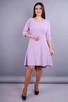 Лейла. Красивое женское платье плюс сайз.