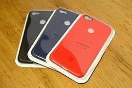 Оригинальный силиконовый чехол для Xiaomi Redmi Note 5A Prime (3 Цвета)