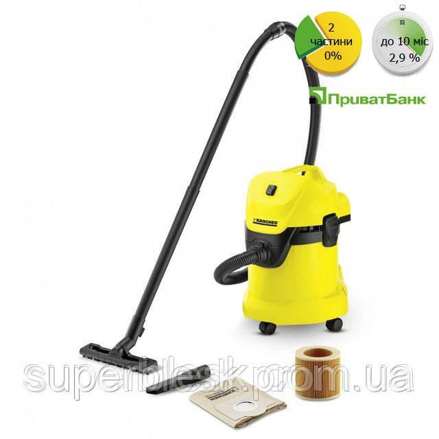 Пылесос для сухой и влажной уборки WD 3