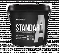 Facade Standart А латексная  краска на акрилатной основе для наружных работ 9л