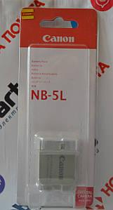 Оригинальный Аккумулятор Canon NB-5L для PowerShot SD800 SD850 SD860 SD890