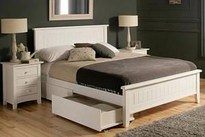 """Кровать двухспальная """"Луизиана"""" деревянная"""
