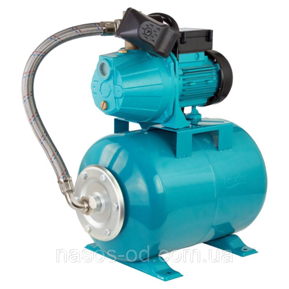 Насосная станция гидрофор Aquatica для воды 1.1кВт Hmax42м Qmax70л/мин (самовсасывающий насос) 24л
