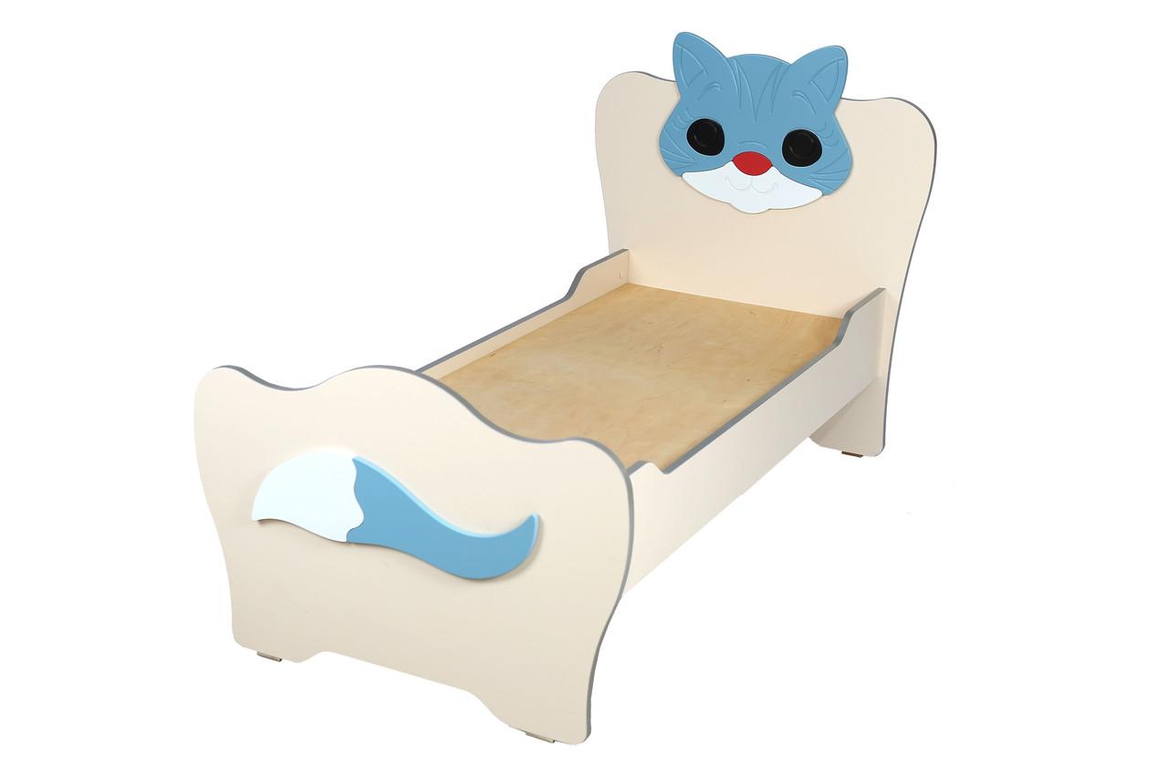 Ліжко дитяче з МДФ накладками Кошеня (Ведмежа)