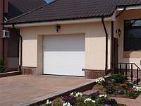 Гаражные ворота секционные DOORHAN RSD02 2610х2030x260 Ral 9006, фото 1