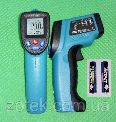 Пирометр ZOTEK GM550 -50 ~ 550°C EMS:0,1-1,00 Инфрокрасный Бесконтактный Термометр GM550E